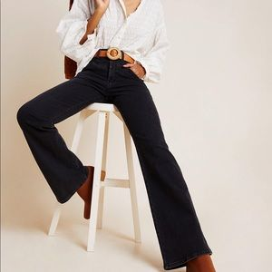 JOE'S • black flared jeans